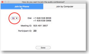 Joining Remote Deposition Audio