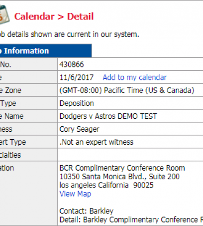 Quickly Add Deposition Settings to Outlook Calendar